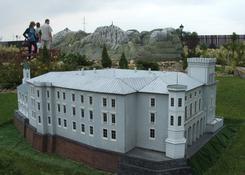 Pałac Sułkowskich - Leszno (w tle Tatry)
