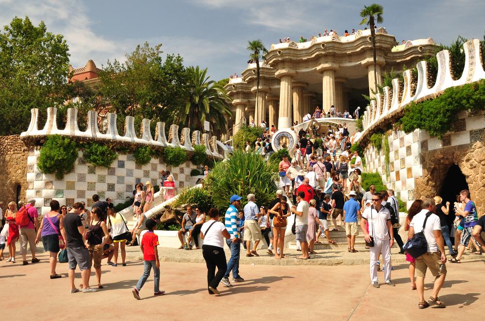 Atrakcje Barcelony - Park Guell