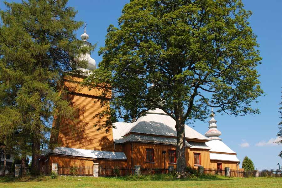 Krynica Zdrój atrakcje: Cerkiew św. Michała Archanioła w Mochnaczce