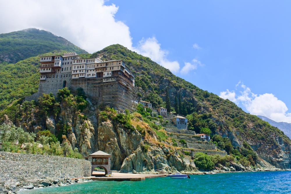 Athos - klasztor św. Dionizego