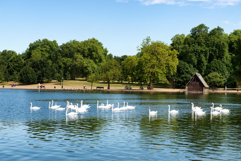 Hyde Park to najbardziej znany park w Londynie
