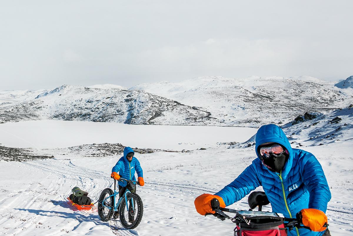 Zimowa wyprawa rowerowa na Grenlandię